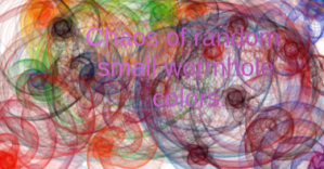 Random wormhole of colors